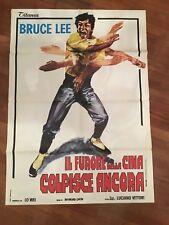 MANIFESTO,Il furore della Cina colpisce ancora,BIG BOSS,Bruce Lee,LO WEI,KUNG FU