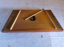 More details for gusli - russian soviet wooden instrument - 12 strings - unusual world instrument