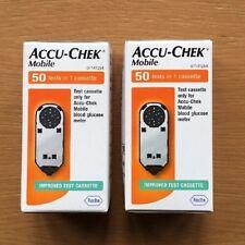 Diabetic Accu-Chek Mobile Cassette x100 EXP 01/2020 NUOVO CON ETICHETTA