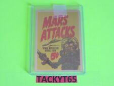2015 MARS ATTACKS OCCUPATION KICKSTARTER METAL CASE TOPPER CARD #MM-C