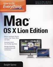 How to Do Everything: Mac Os X Lion by Dwight Spivey (2011, Paperback)