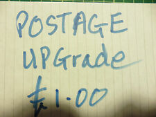 one pound postage upgrade for stickers/car/van/bumper/window/decal