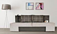 Divano trasformabile in letto con comodini integrati Design modello Seattle