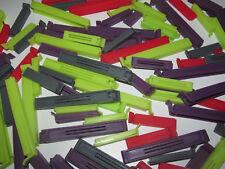 Lot x10 Pinces Zip Cuisine Fermeture Hermétique Plastique