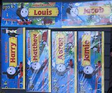 Thomas The Tank Engine Birthday Card loads of names
