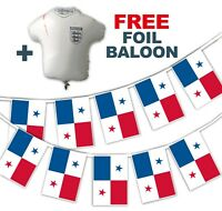 Football World Cup 2018 Set - Panama Flags - bunting + free foil balloon