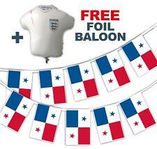 Football World Cup 2018 Set - Peru Flags - bunting + free foil balloon