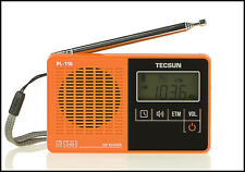 TECSUN Radio PL118 Ultra-Light Portable Pocket Mini Radio,PLL DSP FM Band Radio