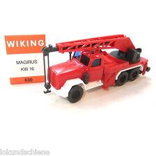 Magirus Kranwagen Feuerwehr  Wiking   HO 1:87 #1454