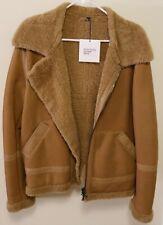 Nahariya Atrium Kith Shearling Aviator Leather Jacket Brand New Size 48 Medium