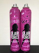 NEW 2 PACK GOT2B GLAM FORCE HAIRSPRAY 9.1oz (257g) Each FAST! *READ DESCRIPTION*