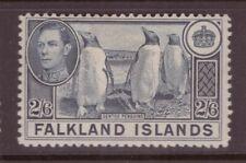 Falkland Islands 1938 2/6 shillings Penguins, birds  -  Mint hinged