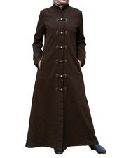 Women winter outwear long Coat Size: M Color Dark Brown