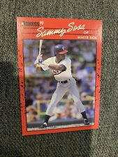 1990 Donruss #489 Sammy Sosa Chicago White Sox Rookie Card RC