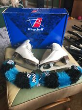 Riedell 121 Ice Figure Skate M Width 4.5 4 1/2 John Wilson Excel Blades W Box
