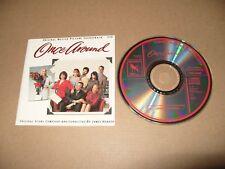Once Around James Horner Soundtrack - Charmantes Ekel (Original , 1990) cd vg +