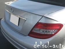painted Mercedes-Benz W204 W 204 C350 C-350 C63 4d Brabus type Trunk Spoiler Lip