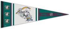 Mighty Ducks of Anaheim Ana '95 Nhl Retro Series Premium Felt Collectors Pennant