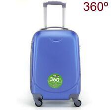 9aa5f865b MALETA EQUIPAJE DE MANO CABINA 4 RUEDAS 360º PEQUEÑA RIGIDA azul