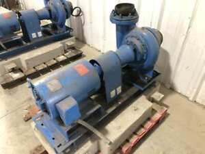 "ITT Bell & Gossett 5BC 5""x5"" DI 20HP Centrifugal Suction Pump 1760RPM 820GPM 3PH"