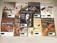 NRA ~ American Rifleman Magazines ~  Lot of 9 Issues ~ 2008