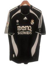 Adidas Real Madrid 2006 Black Away Soccer Jersey Mens (L)