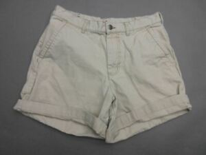 Patagonia Size 33 Mens Tan 100% Organic Cotton Durable Outdoor Chino Shorts T936