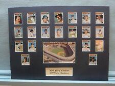 New York Yankees 1977 World Series Champions