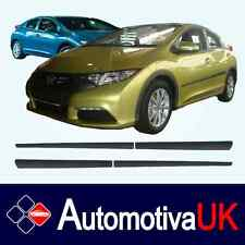 Honda Civic 5D Mk9 Rubbing Strips | Door Protectors | Side Mouldings Body Kit