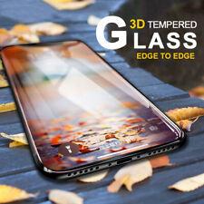 3D 4D 5D cubierta curva Completo Protector de Pantalla de Vidrio Templado para iPhone 11 Pro Max