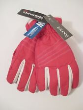 Girls Igloos Winter Ski Gloves Waterproof 3M Thinsulate Isolant~Pink~Size M-L