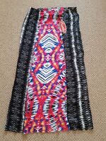 Mambo Afrobeat Ladies Long Wrap Summer Skirt Size 12
