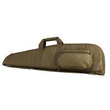 "NcStar CVT2906 40"" PVC Padded Tactical Rifle Shotgun Gun Case Bag w/Pouch TAN"