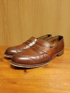 Allen Edmonds 'Randolph' Burgundy Oxblood Slip-On Dress Penny Loafers US 11.5 E