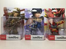Nintendo Amiibo SIMON,CHROM,INCINEROAR Super Smash Bros Ultimate Switch 3 Pack