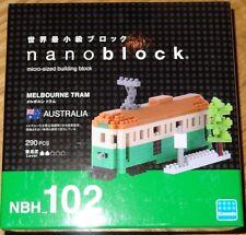Melbourne Tram Nanoblock Micro-Sized building block construction toy Mini Kawada