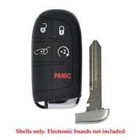 New Remote Control  Smart Key Fob Case Shell 4B Fit For Chrysler Dodge Y159
