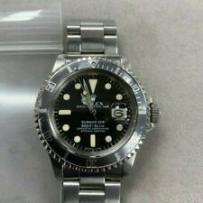 Rolex Vintage Submariner Steel Auto Ghosted Bezel Mens Watch 1680 Selling As-Is