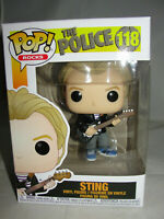 Funko Pop Rocks The Police Sting Vinyl Figure-New