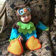 NWT/NEW WHAT A HOOT ANIMAL BIRD OWL INFANT BABY'S HALLOWEEN COSTUME 6-12 MONTHS