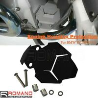 Black Aluminum Engine Housing Protection Custom For FOR BMW R1200R R1200RS LC