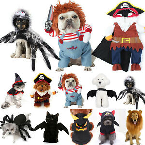 Pet For Dog Cat Winter Warm Bat Clothes Party Fancy Dress Cosplay Funny Costumes