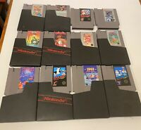 Nintendo Entertainment System Game Lot Of 12