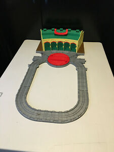 THOMAS & FRIENDS TAKE N PLAY TIDMOUTH SHEDS PLAYSET / Track Extension