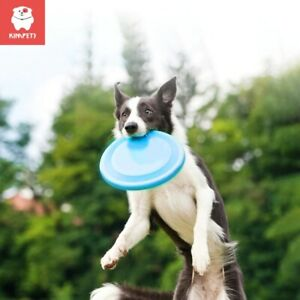 Dog Pet Flying Disc Toy Fun Frisbee Interactive Chew Toy Dog Throw and Fetch Toy