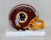 Stephen Davis Autographed Washington Redskins Mini Helmet- The Jersey Source Aut