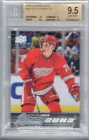 BGS 9.5 Gem Mint DYLAN LARKIN 2015/16 UD Upper Deck YOUNG GUNS Rookie Card WOW!