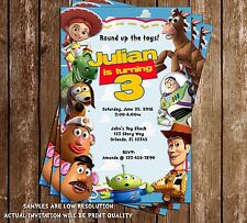 Disney Toy Story Birthday Party Invitations - 15 Printed W/envelopes