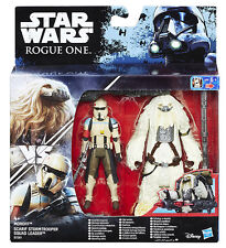 Star Wars Rogue One Moroff / Scarif Stormtrooper Squad Leader Action Figure