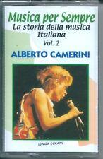 Alberto Camerini I Successi (2000) Musicassetta NEW Serenella Rock'n'roll robot